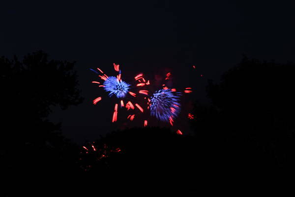 Washington Poster featuring the photograph 4th Of July Fireworks - 011323 by DC Photographer