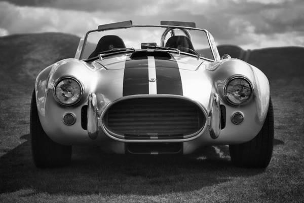 Car Poster featuring the photograph Ac Cobra 427 by Sebastian Musial