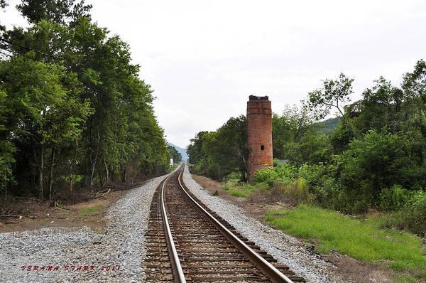 Alabama Poster featuring the photograph Alabama Tracks by Verana Stark