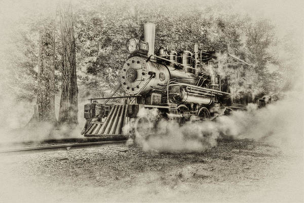 Train Poster featuring the photograph Antique Train by Bill Wakeley
