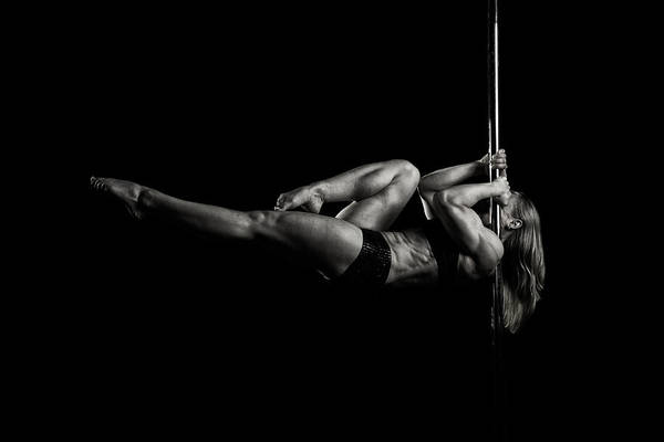 Pole Poster featuring the photograph Balance Of Power 2012 Series #9 Intense by Monte Arnold