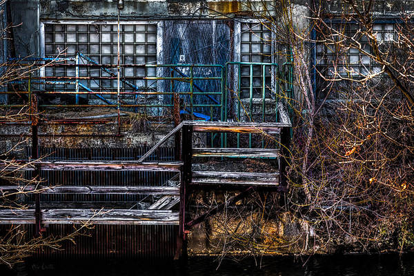 Abstract Poster featuring the photograph Bates Mill No 5 by Bob Orsillo