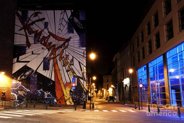 Art Poster featuring the photograph Belgium Street Art by Juli Scalzi