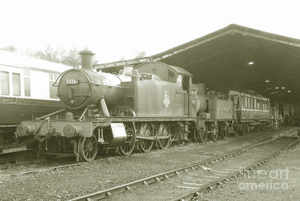South Poster featuring the photograph Buckfastleigh Shed by Rob Hawkins