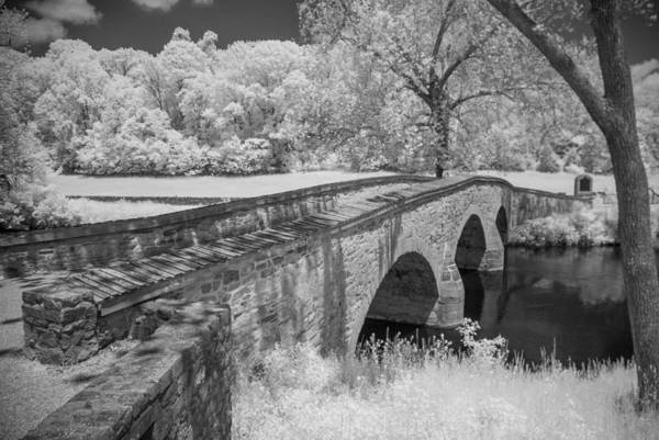 Antietam Battlefield Poster featuring the photograph Burnside Bridge 0239 by Guy Whiteley