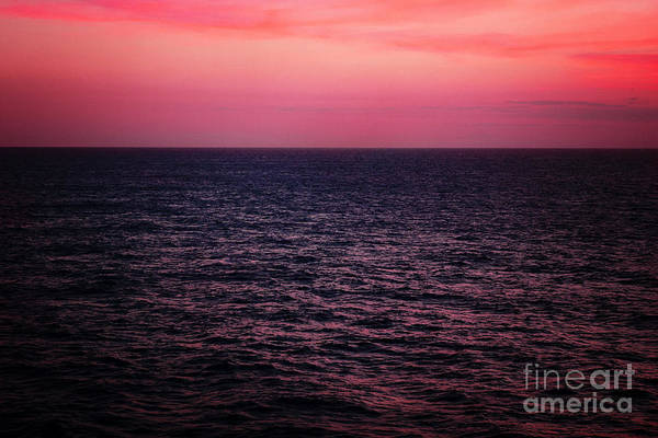 Sunset Poster featuring the photograph Caribbean Sunset by Kim Fearheiley