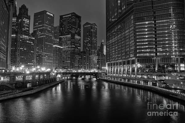 Chicago Poster featuring the photograph Chicago Riverwalk by Eddie Yerkish