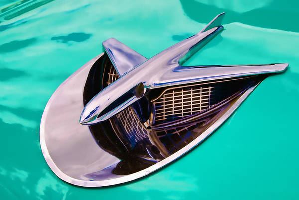 Fifties Chrome Poster featuring the photograph Chrome Aircraft by Phil 'motography' Clark
