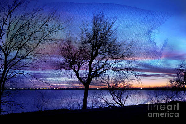 Landscape Poster featuring the photograph End Of Day by Betty LaRue