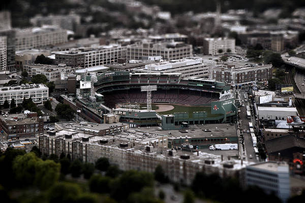 Baseball Poster featuring the photograph Fenway Park by Tim Perry