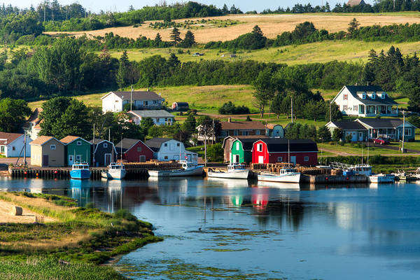 French River Poster featuring the photograph French River by Matt Dobson