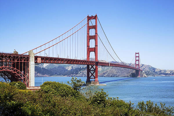 Golden Gate Poster featuring the photograph Golden Gate Bridge by Kelley King