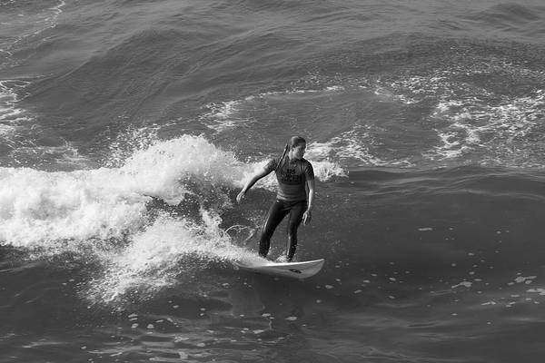 Surfing Poster featuring the photograph In The Zone by Tom Kelly