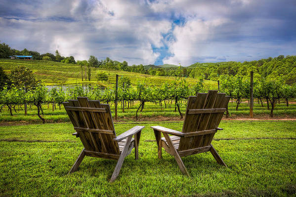 Appalachia Poster featuring the photograph It's Happy Hour by Debra and Dave Vanderlaan