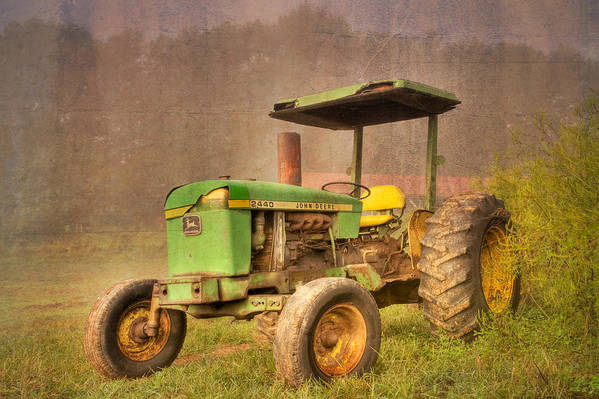 2440 Poster featuring the photograph John Deere 2440 by Debra and Dave Vanderlaan