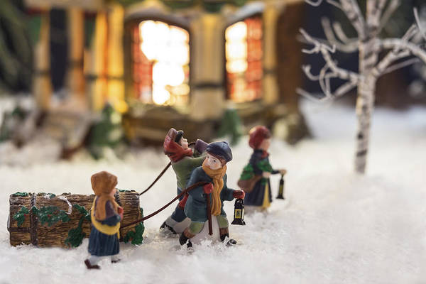 Christmas Cards Poster featuring the photograph Journey Home by Caitlyn Grasso