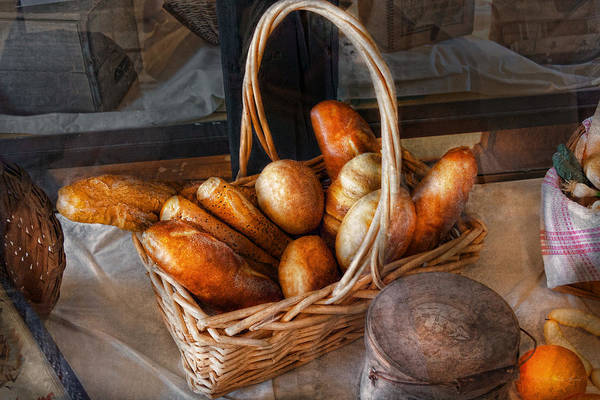 Savad Poster featuring the photograph Kitchen - Food - Bread - Fresh Bread by Mike Savad