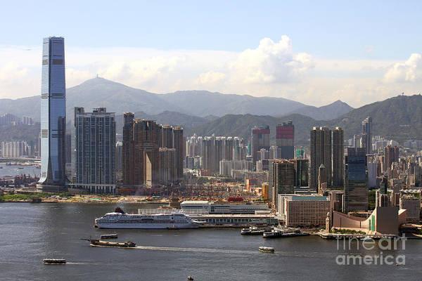 Hong Kong Poster featuring the photograph Kowloon In Hong Kong by Lars Ruecker