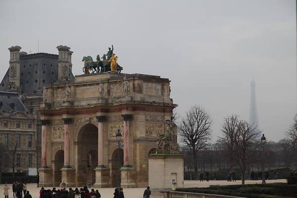 Paris Poster featuring the photograph Louvre - Paris France - 011326 by DC Photographer
