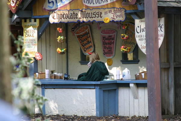 Maryland Poster featuring the photograph Maryland Renaissance Festival - Merchants - 121252 by DC Photographer