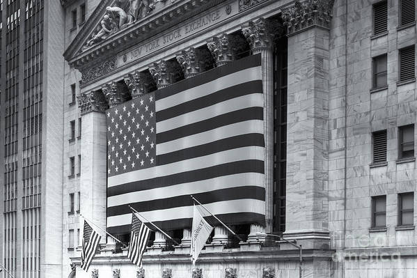 Clarence Holmes Poster featuring the photograph New York Stock Exchange Iv by Clarence Holmes