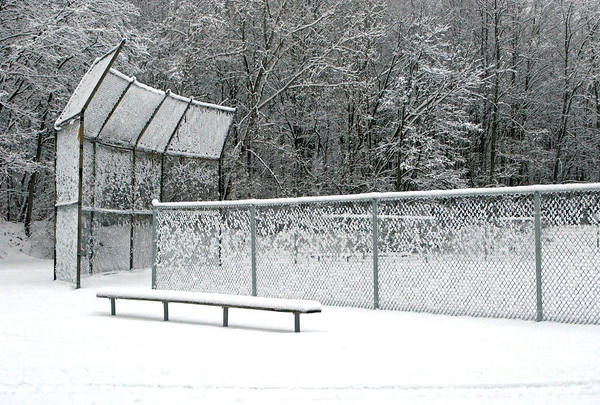 Winter Poster featuring the photograph Off Season by Ann Horn