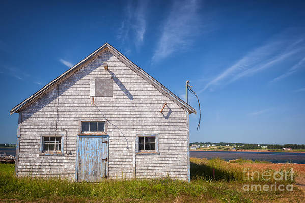 Building Poster featuring the photograph Old Building In North Rustico by Elena Elisseeva