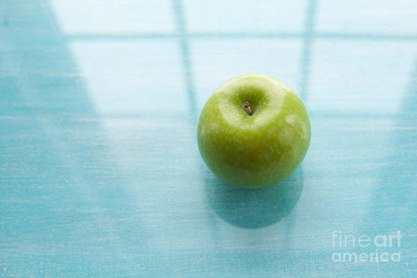 Apple Poster featuring the photograph One A Day by Kay Pickens