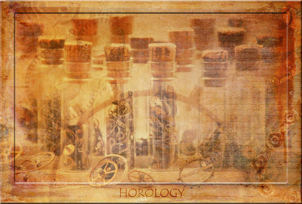 Horology Poster featuring the photograph Parts Of Time by Fran Riley