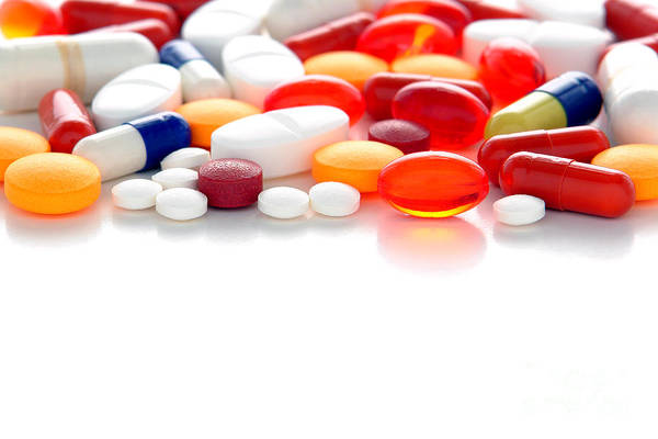Pills Poster featuring the photograph Prescriptions by Olivier Le Queinec