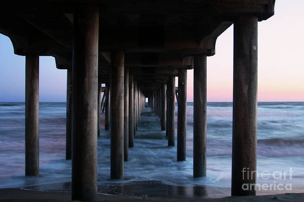 Huntington Beach Pier Poster featuring the photograph Road To Heaven by Mariola Bitner