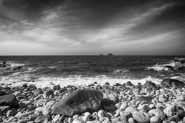Cornwall Canvas Poster featuring the photograph Rocky Shore by Chris Thaxter