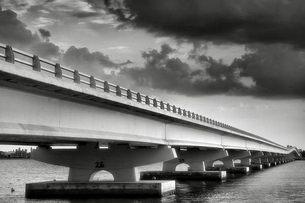 Road Poster featuring the photograph Sanibel Causeway II by Steven Ainsworth