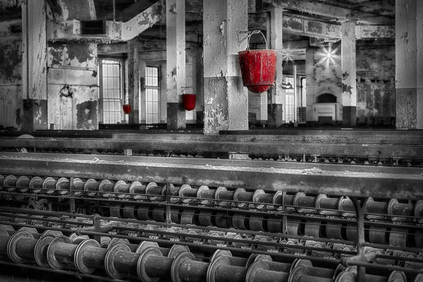 Lonaconing Poster featuring the photograph Silk Mill by Susan Candelario