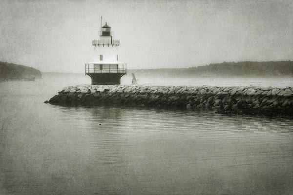 Bay Poster featuring the photograph Spring Point Ledge Light by Joan Carroll