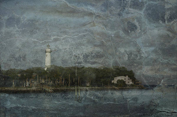 Lighthouse Poster featuring the photograph St. Simons Island Lighthouse by A R Williams