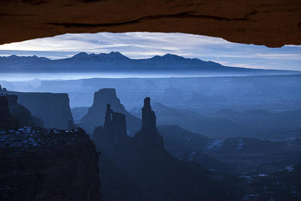 Utah Poster featuring the photograph Starlit Mesa by Dustin LeFevre