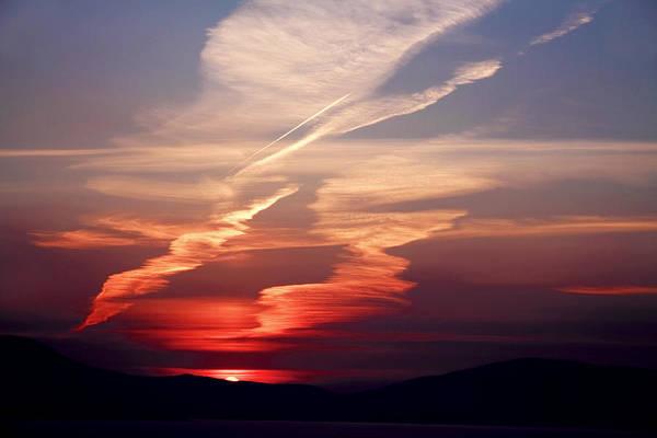 Ireland Poster featuring the photograph Sunset Dance by Aidan Moran
