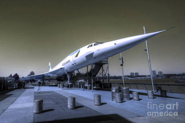Concord Poster featuring the photograph Supersonic by Rob Hawkins