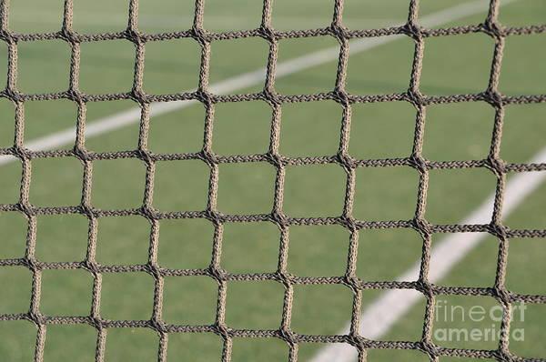 Net Poster featuring the photograph Tennis Net by Luis Alvarenga