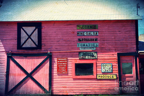 Grocery Poster featuring the photograph The Grocery Store by Sophie Vigneault