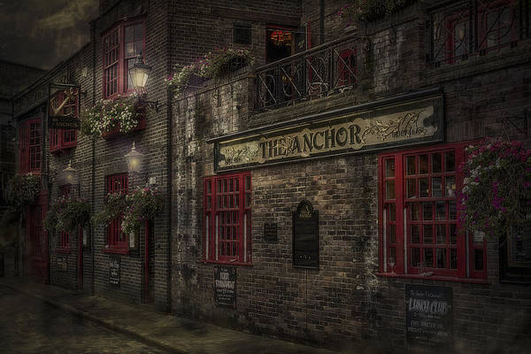 Anchor Poster featuring the photograph The Old Anchor Pub by Erik Brede