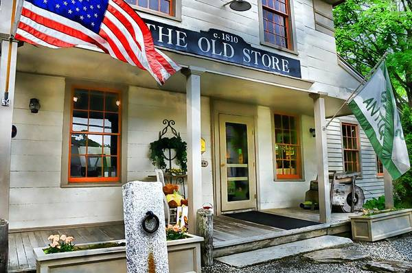 Store Poster featuring the photograph The Old Store by Diana Angstadt