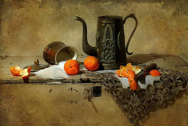 Still Life Poster featuring the photograph The Sugar Bowl by Diana Angstadt
