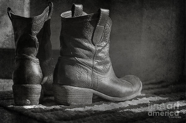 Boots Poster featuring the photograph These Boots by Terry Rowe