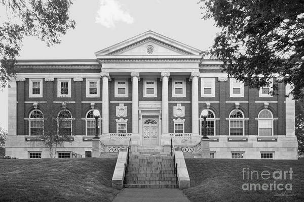 Carnegie Library Poster featuring the photograph Tufts University Eaton Hall by University Icons