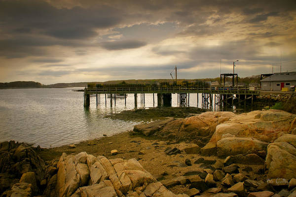 Kennebunk Poster featuring the photograph Twilight Cape Porpoise Maine by Bob Orsillo