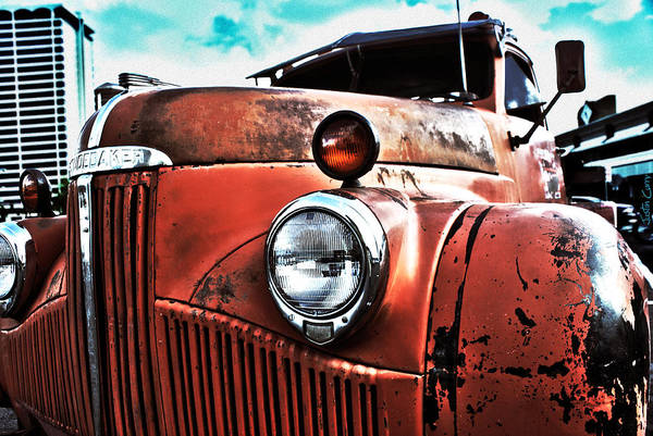 Tow Truck Poster featuring the photograph Uncle Mater by Justin Curry