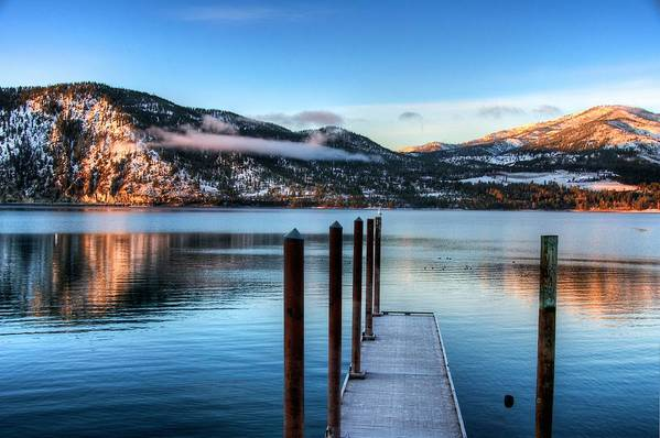 Lake Chelan Poster featuring the photograph Wapato Point by Spencer McDonald