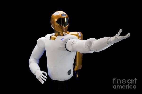 Dexterous Poster featuring the photograph Robonaut 2, A Dexterous, Humanoid by Stocktrek Images